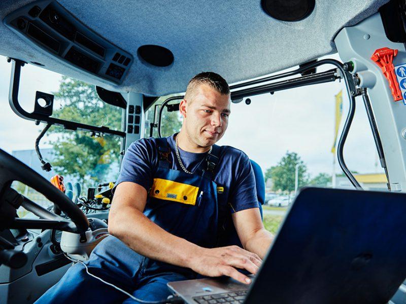 GPS voor landbouw en akkerbouw
