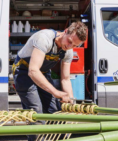 storingen landbouw mechanisatiebedrijf friesland